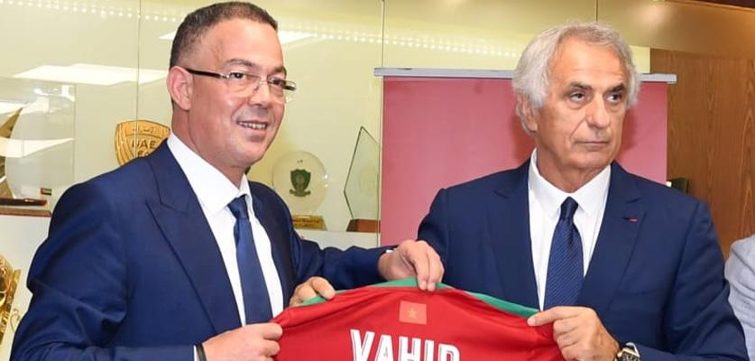 """خاص.. """" وحيد خليلوزيتش مستمر مع المنتخب الوطني المغربي"""""""