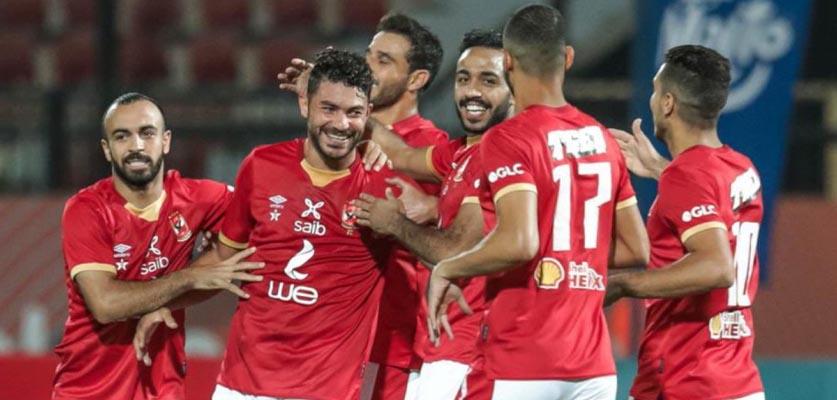الأهلي المصري يعود لصدارة الدوري بعد فوزه على سيراميكا كليوباترا