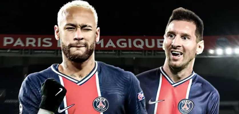 ميسي و نيمار لن يشاركا في مباراة باريس سان جرمان ضد بريست