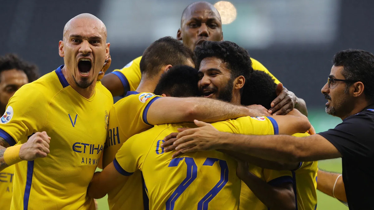 النصر يصل نصف نهائي دوري أبطال أسيا بعد فوزه على الأهلي السعودي