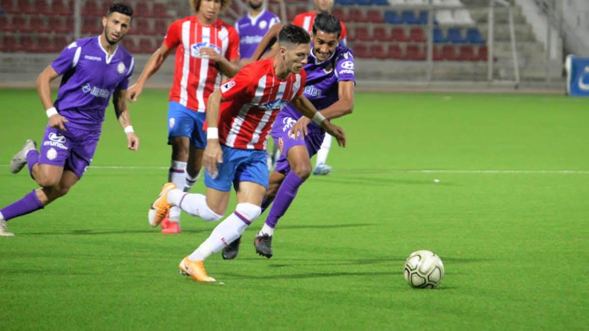 الوداد الرياضي يتعادل أمام المغرب التطواني في سانية الرمل