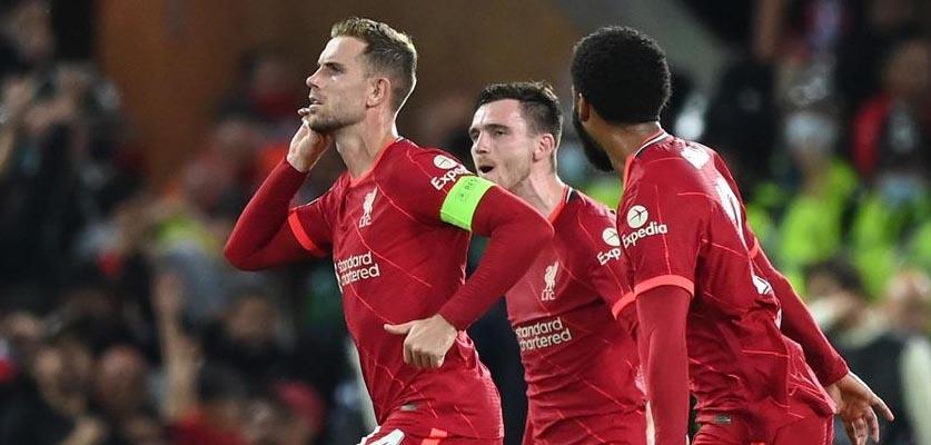 ليفربول يحقق فوزا مثيرا على ميلان