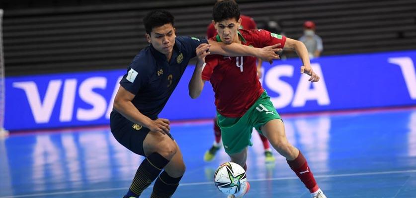 المنتخب المغربي داخل القاعات يضيع فرصة التأهل للدور الثاني من كأس العالم