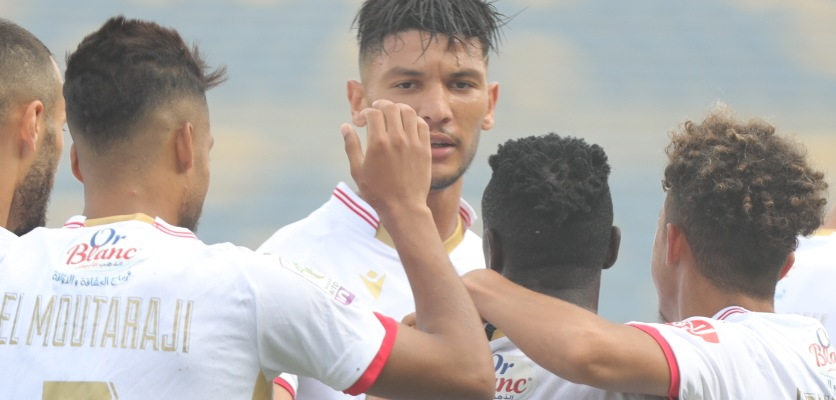 الوداد يحقق فوزه الأول في البطولة الإحترافية على حساب اتحاد طنجة