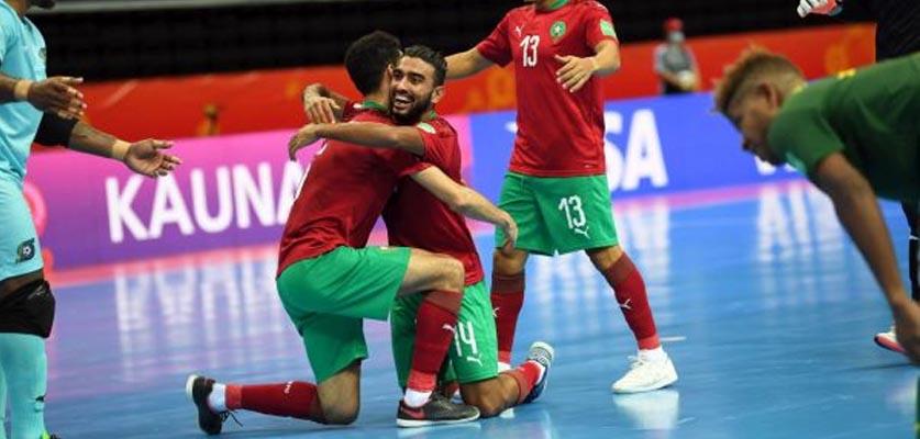 المنتخب المغربي للقاعة يبدأ مشواره في كأس العالم بالفوز على جزر السليمان