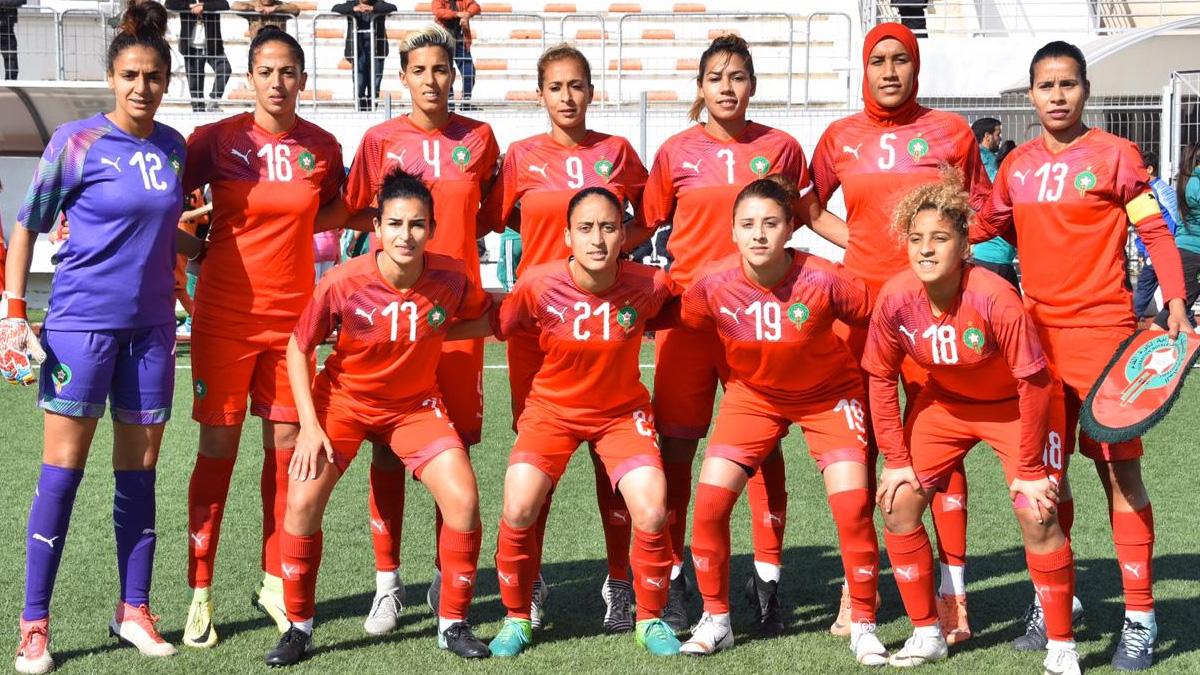 معسكر تدريبي للمنتخب النسوي بالمركز الرياضي محمد السادس لكرة القدم
