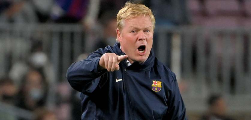 مفاجأة كومان في مباراة برشلونة ضد فالنسيا المرتقبة