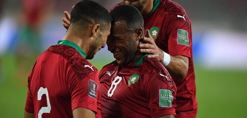 رقم قياسي جديد لأيوب الكعبي مع المنتخب المغربي