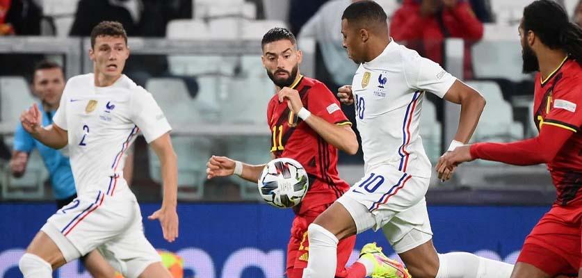في مباراة مثيرة فرنسا تتأهل لنهائي دوري الأمم الأوروبية على حساب بلجيكا