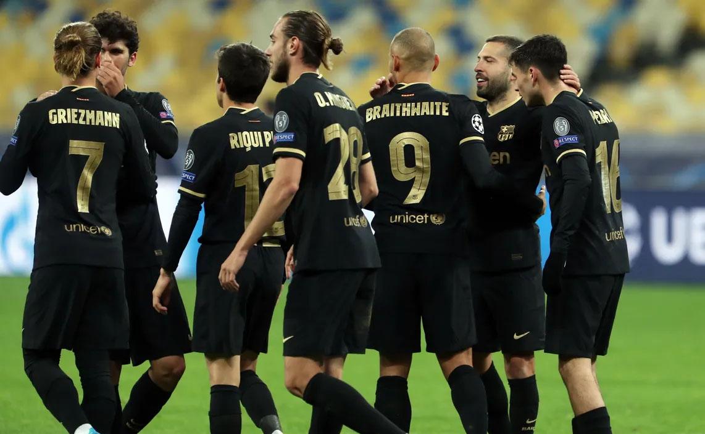 برشلونة يحجز مكانا في الدور 16 من دوري أبطال أوروبا
