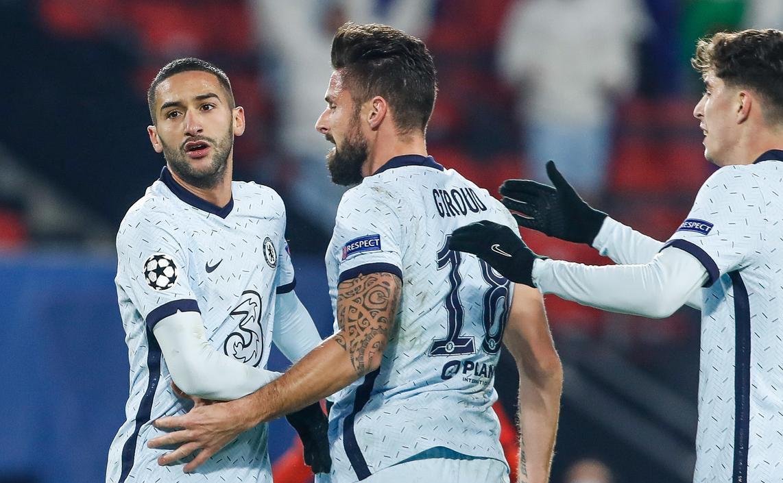إشبيلية و تشيلسي أول المتأهلين للدور 16 من دوري أبطال أوروبا