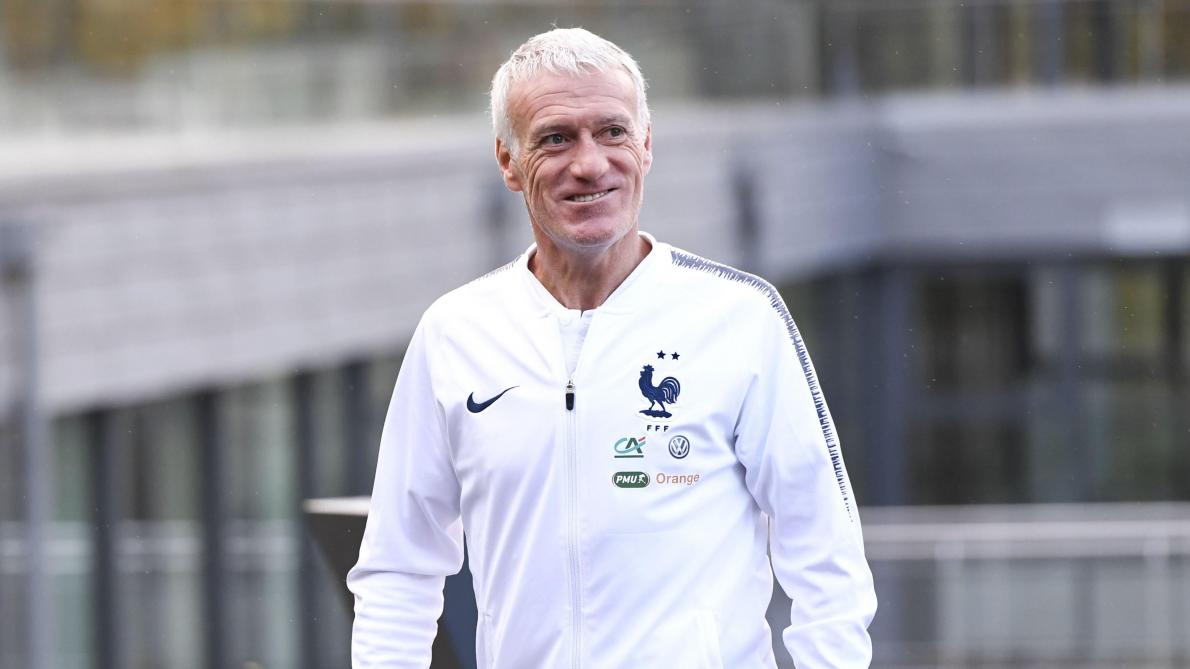 الاتحاد الفرنسي يجدد تعاقده مع ديدييه ديشان حتى عام 2022