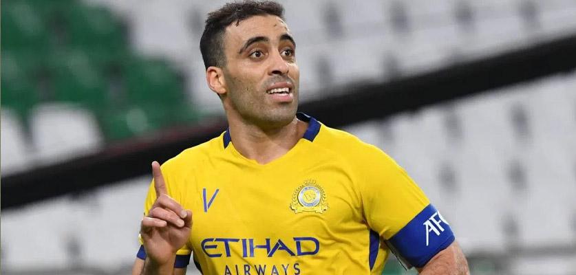 النصر  السعودي يحتفي بتتويج حمد الله كأفضل هداف في دوري أبطال أسيا