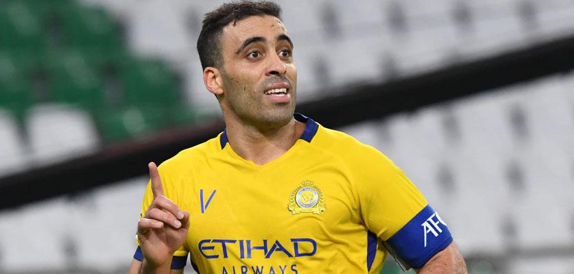 حمد الله يخلق الجدل بسبب شجاره مع زميله في الفريق أثناء المباراة